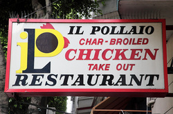 Restaurant il pollaio north beach San Francisco
