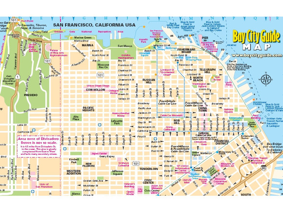 San Francisco Map